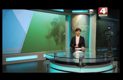 Репортаж о дайвинге на озере Долгое